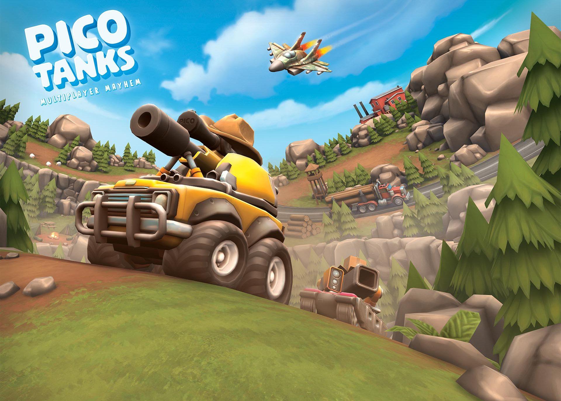 Pico Tanks: Multiplayer Mayhem | 3v3 tank brawler!